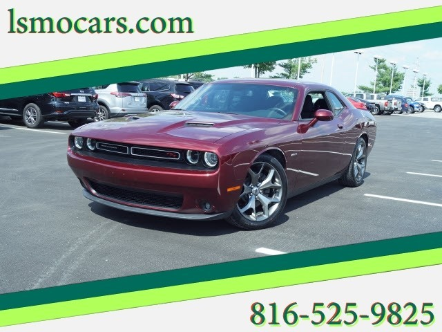Certified Pre Owned 2017 Dodge Challenger R T Plus