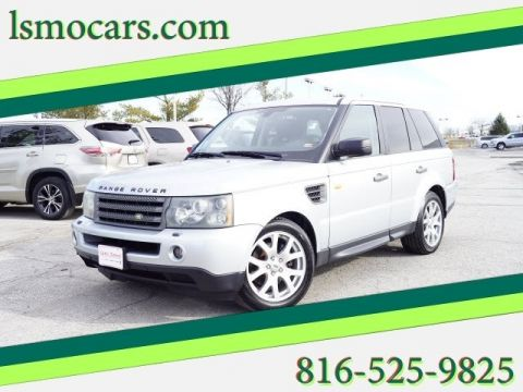 Pre-Owned 2007 Land Rover Range Rover Sport HSE